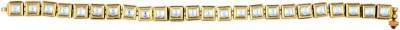 Kushals Fashion Jewellery Copper, Alloy Yellow Gold Bracelet