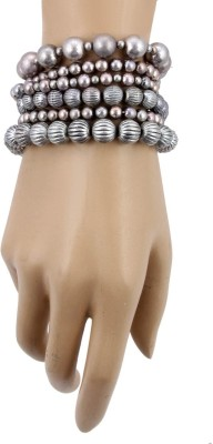 Jewelizer Alloy Silver Bracelet