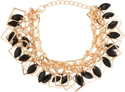 Riana Alloy Yellow Gold Bracelet
