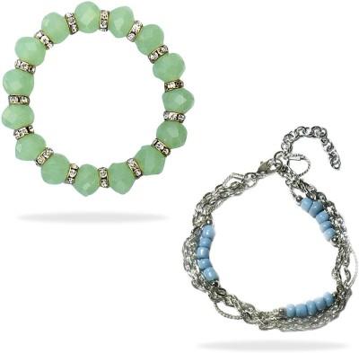 Beadworks Glass, Alloy Bracelet Set