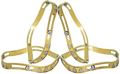 Anjan Brass 22K Yellow Gold Bangle Set