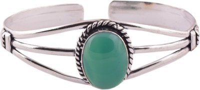 Ganapathy Gems Metal Onyx Cuff