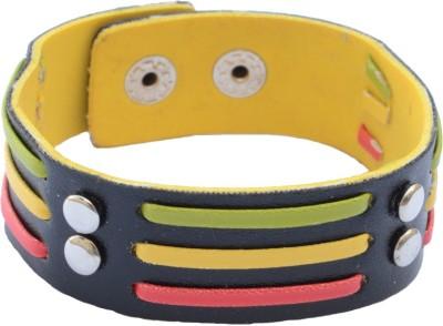 Foppish Mart Leather Beads Bracelet