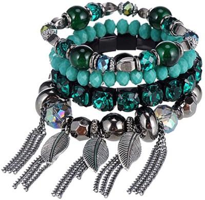 Jewel Touch Stone, Alloy Bracelet Set