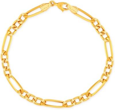 J S IMITATION JEWELLERY Metal 22K Yellow Gold Bracelet