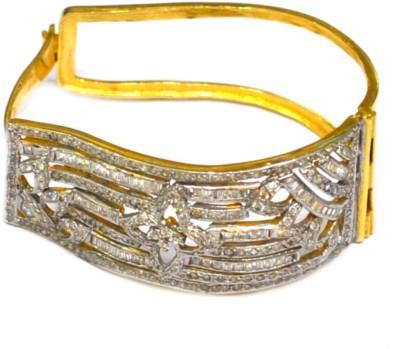 Dilan Jewels Silver Zircon Yellow Gold, Silver Bracelet