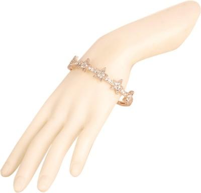 Bling N Beads Metal, Silver 18K Yellow Gold Bracelet