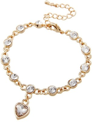 Wearyourfashion Alloy 18K Yellow Gold Bracelet