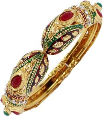 Soni Art Jewellery Alloy Yellow Gold Kada