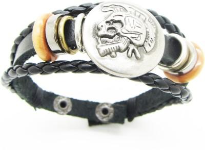 Cilver Fashion Alloy, Leather Bracelet