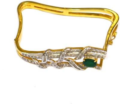 Dilan Jewels Silver Zircon 18K Yellow Gold Bracelet