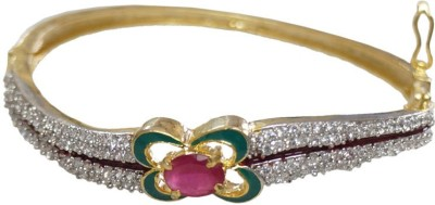 Sheetal Jewellery Brass, Alloy Cubic Zirconia Bracelet