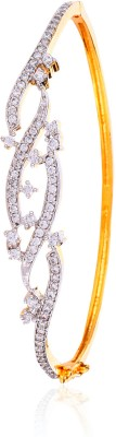 Alysa Alloy Yellow Gold, Rhodium Bracelet