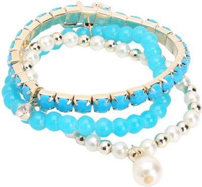 Jewel Touch Alloy, Acrylic Bracelet Set