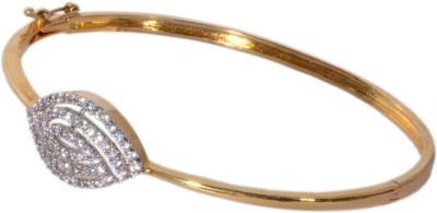 Ved Jewel Brass Diamond Yellow Gold Bracelet