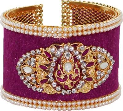 Soni Art Jewellery Alloy Beads Yellow Gold Kada