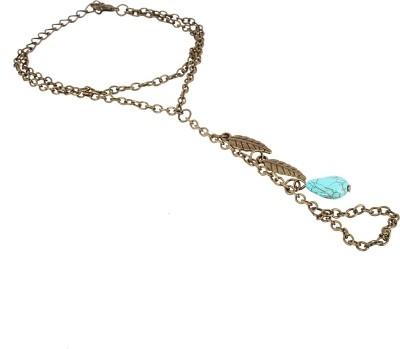 Fayon Alloy, Ceramic Ring Bracelet