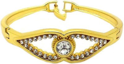 Beora Alloy Crystal Yellow Gold Bracelet