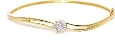 Zaveri Pearls Brass 18K Yellow Gold Kada