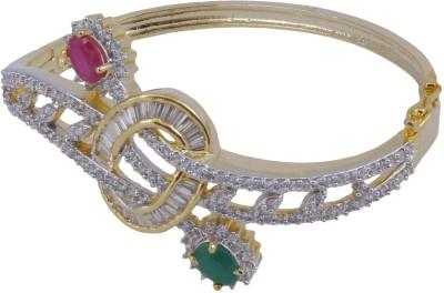 Pink Rose Alloy Bracelet