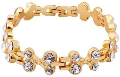 Rich Club Yellow Gold Diamond Yellow Gold Bracelet