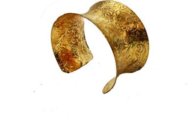 Modish Look Brass Cuff