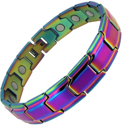 Aarogyam Energy Jewellery Stainless Steel Titanium Bracelet