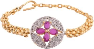 Enzy Alloy Rhodium Bracelet