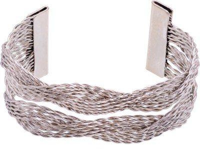 Cygnet Jewels Alloy Rhodium Bracelet