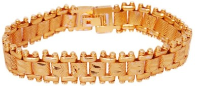 Artzz Brass Yellow Gold Bracelet