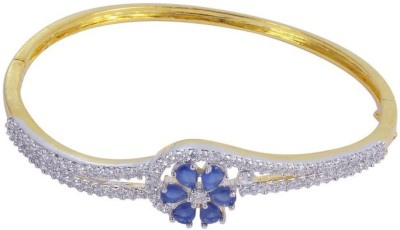Muchmore Alloy Cubic Zirconia 18K Yellow Gold Bracelet