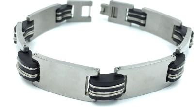 SK Stainless Steel Silver Bracelet