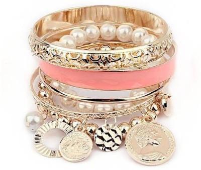 Amour Alloy Charm Bracelet