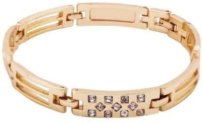 Rich Club Metal Diamond Yellow Gold Bracelet