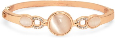 Fashionography Alloy 18K Rose Gold Charm Bracelet