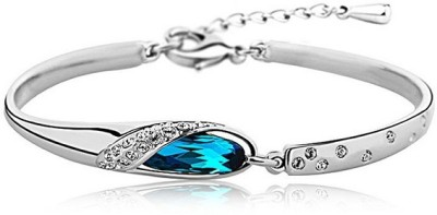 Streamline Alloy Platinum Bracelet
