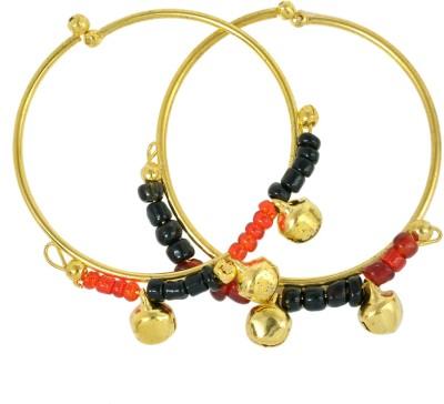 Memoir Brass Beads 24K Yellow Gold Kada
