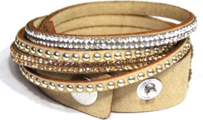 Blossom Berry Fabric Bracelet