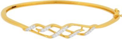 P.N.Gadgil Jewellers Leaflet Yellow Gold 18kt Diamond Bracelet(Yellow Gold Plated) at flipkart