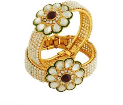 Luxor Alloy Yellow Gold Bracelet Set