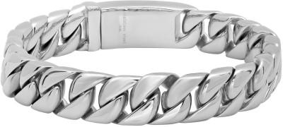 Magic Stones Brass 22K White Gold Bracelet