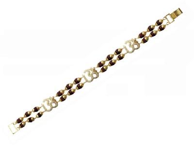 knp enterprise Brass Yellow Gold Bracelet