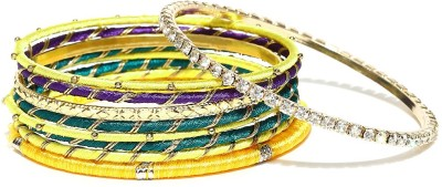 Anouk Metal Enamel Bangle(Pack of 9) at flipkart