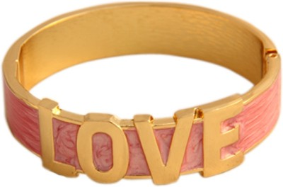 Young & Forever Alloy, Enamel Bracelet