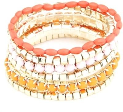 DressVilla Acrylic, Alloy Bracelet Set