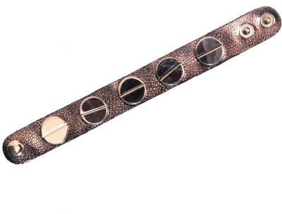 Fancy Steps Leather Bracelet