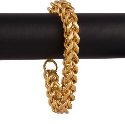AVN JEWELLERS Brass Rhodium Bracelet