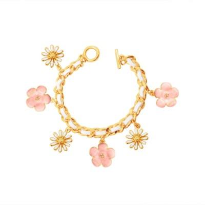 simaya Alloy Charm Bracelet