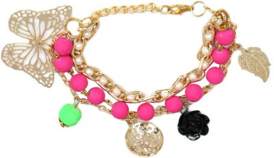 Addiction Fashion Alloy Beads Charm Bracelet