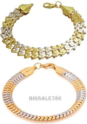 BIGSALE786 Alloy Yellow Gold, Silver Bracelet Set